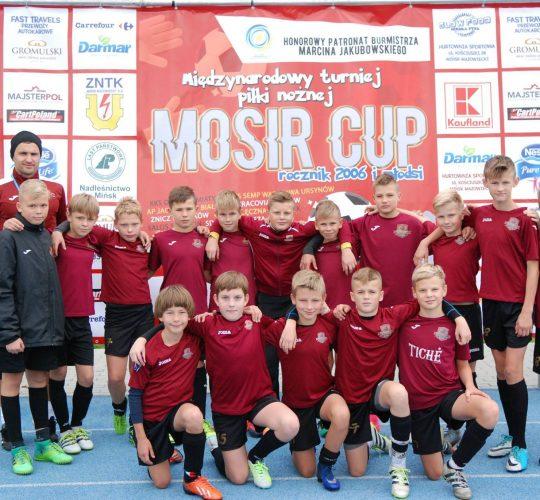 Tarptautiniame turnyre MOSIR CUP-2017