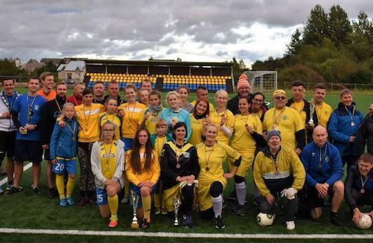 Mini draugiškas futbolo turnyras